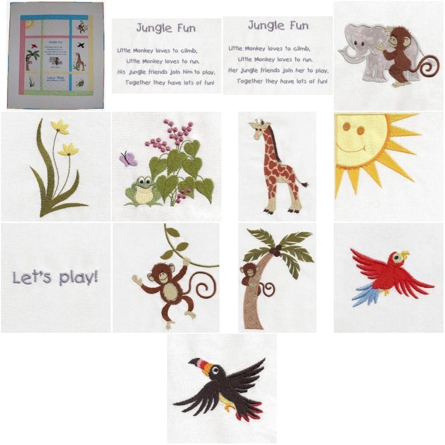 Little Monkey Jungle Friends