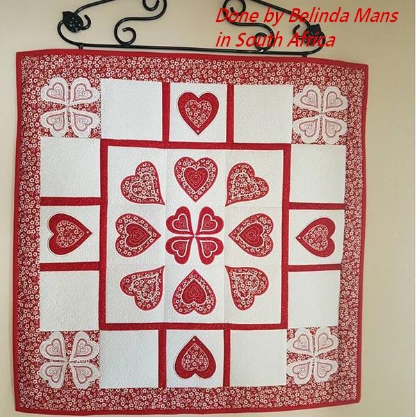 Heart Quilt Blocks -3