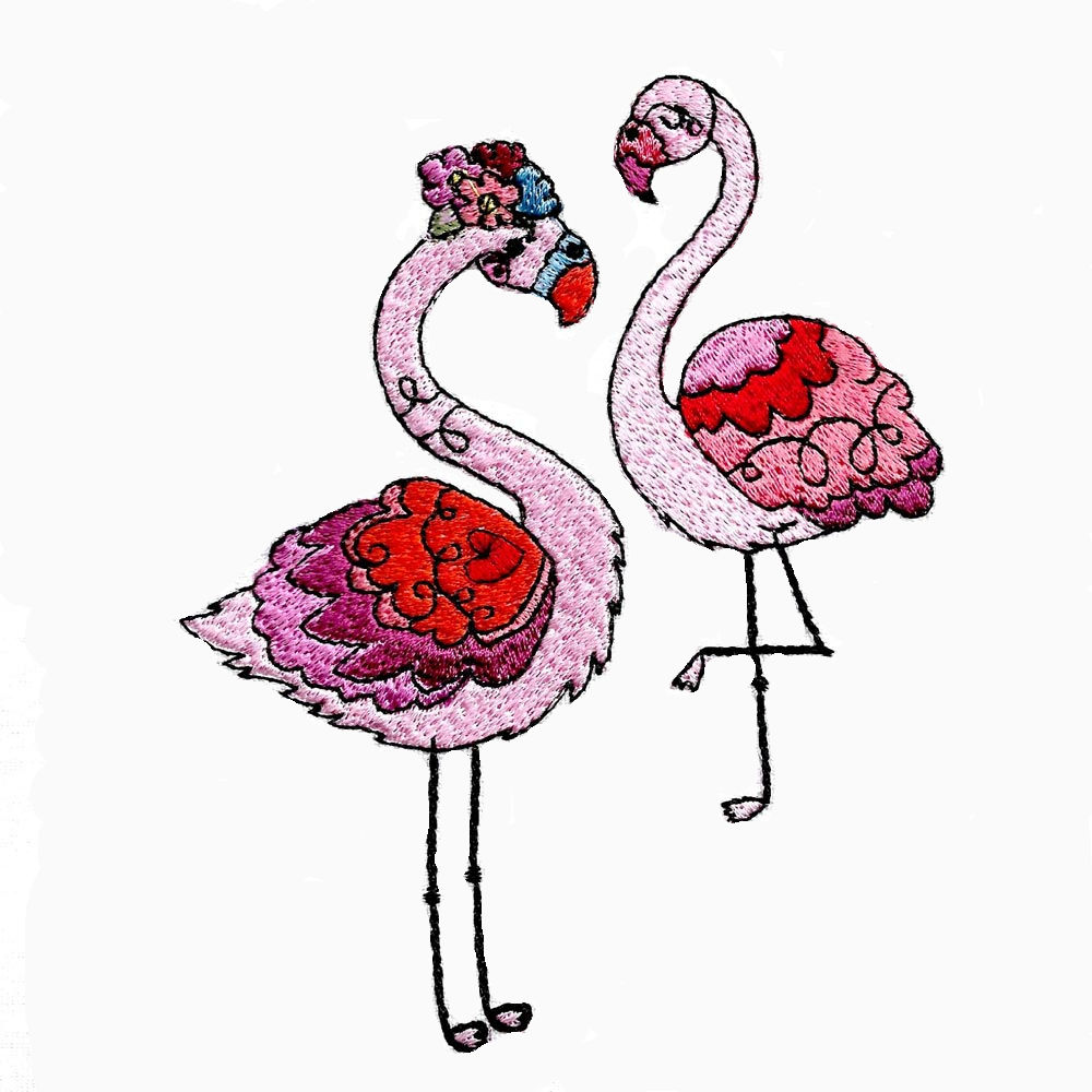 Whimsy Flamingoes-10