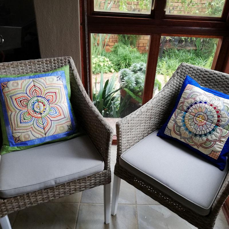 Mandala Quilt Blocks3-5