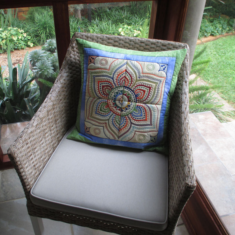 Mandala Quilt Blocks3-7
