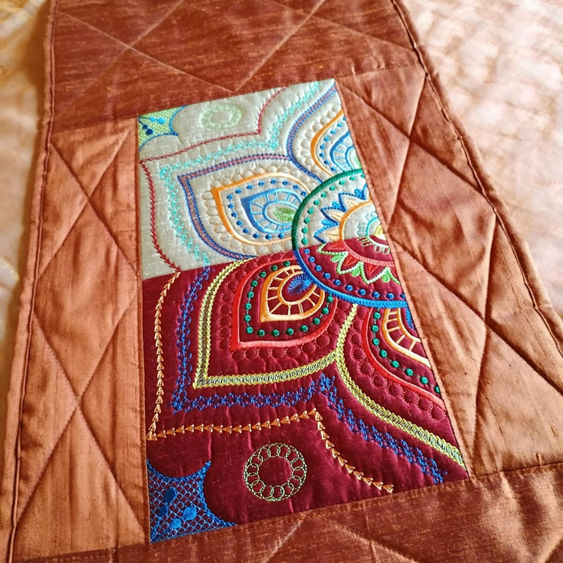Mandala Quilt Blocks3-8