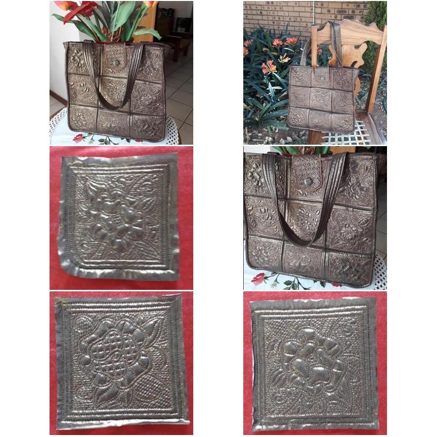 Trapunto Rose Bag