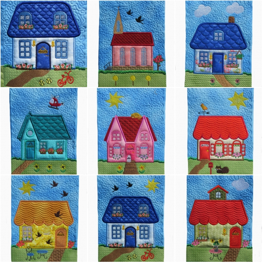 My Dream Houses Set