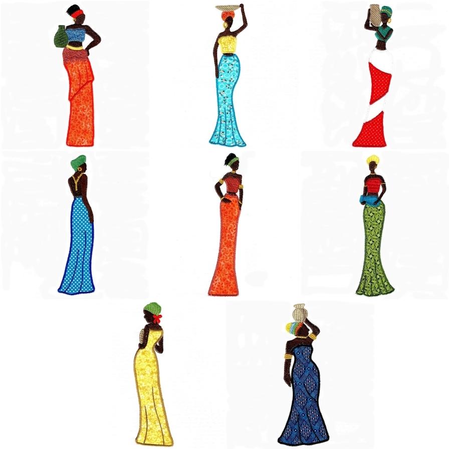 African Ladies Set