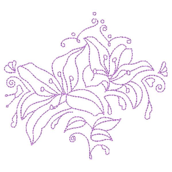 Decorative Lillies-4