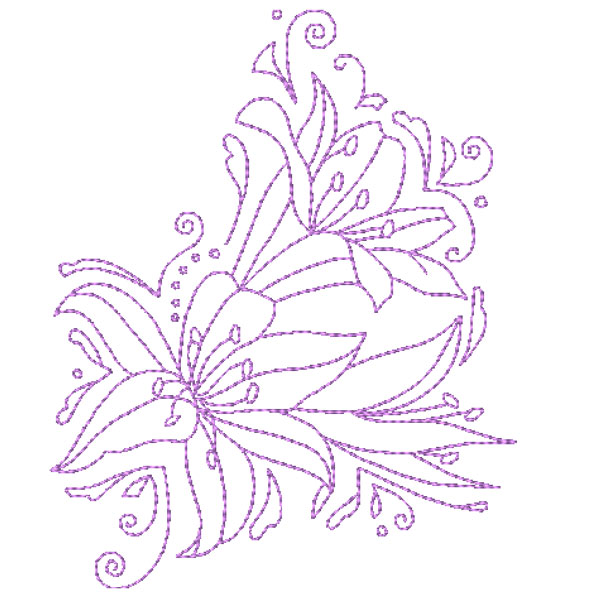 Decorative Lillies-5
