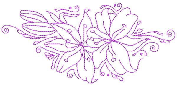 Decorative Lillies-6