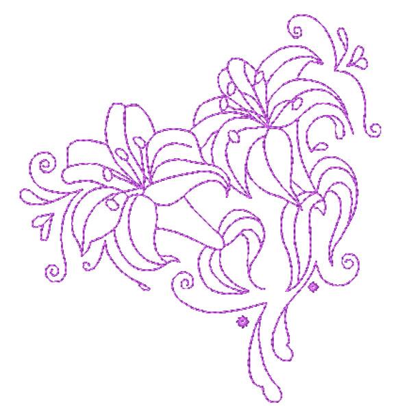 Decorative Lillies-8