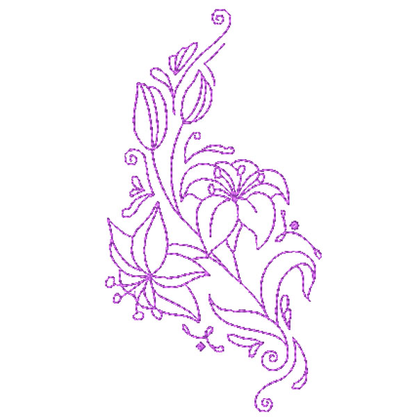 Decorative Lillies-10