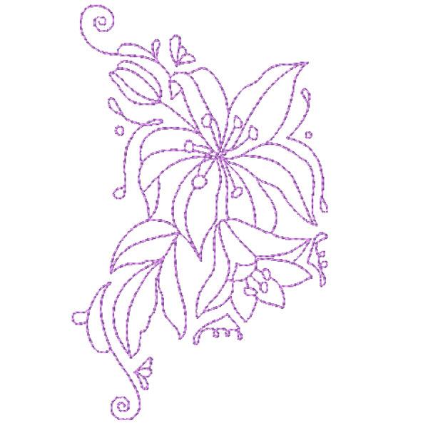 Decorative Lillies-11