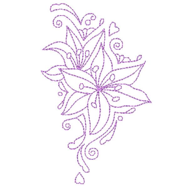 Decorative Lillies-12