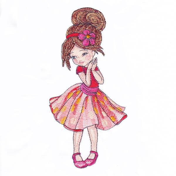 Dressed-up Girl 2