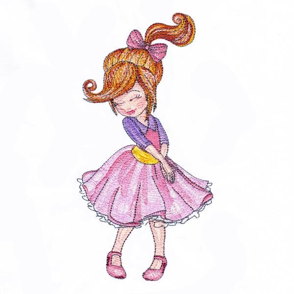 Dressed-up Girl 3