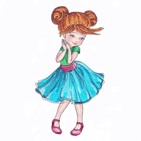 Dressed-up Girl 4