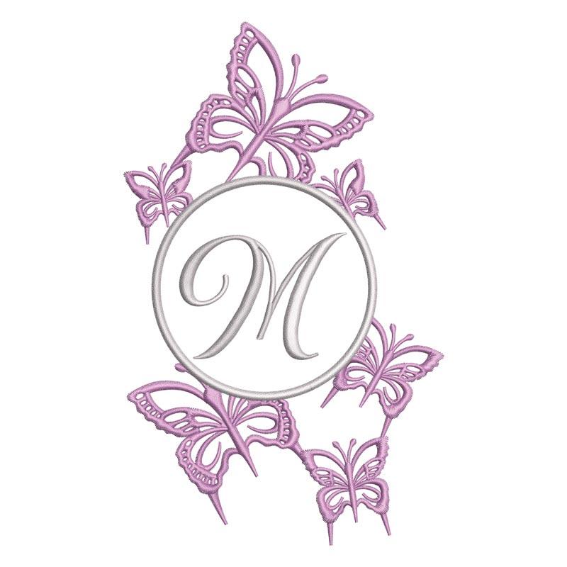 Flying Alphabet Letter M