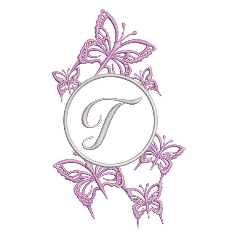 Flying Alphabet Letter T