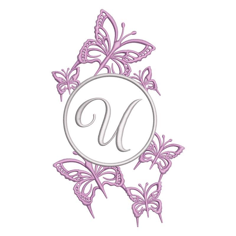 Flying Alphabet Letter U