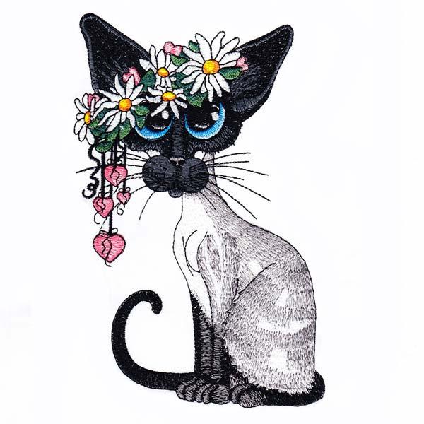 Siamese Cats by Amylyn Bihrle -4