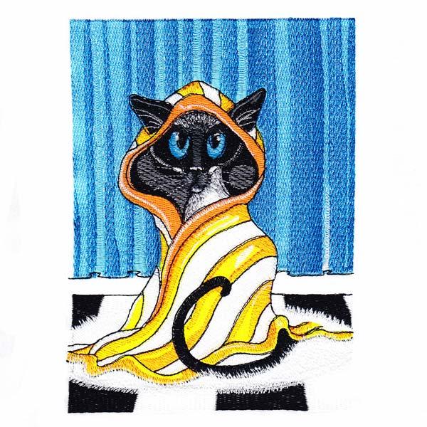 Siamese Cats by Amylyn Bihrle -6