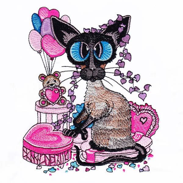 Siamese Cats by Amylyn Bihrle -7