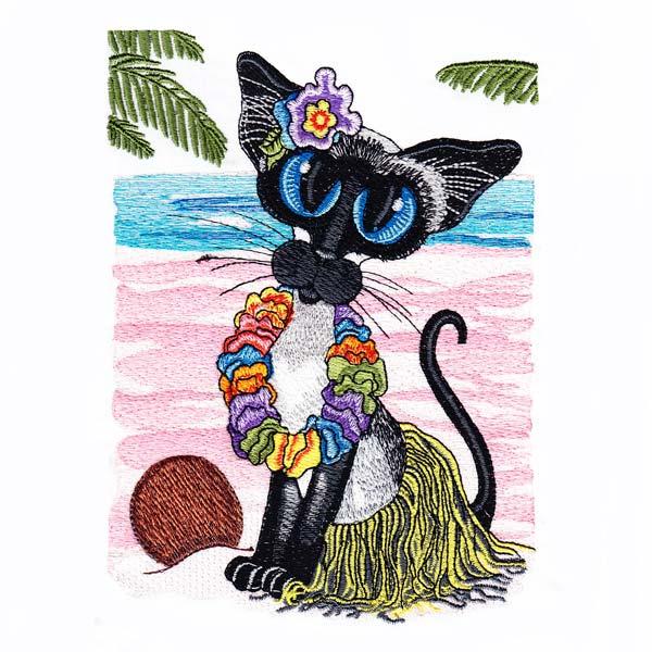 Siamese Cats by Amylyn Bihrle -8