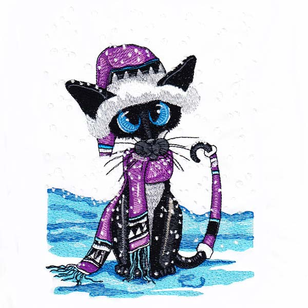 Siamese Cats by Amylyn Bihrle -9