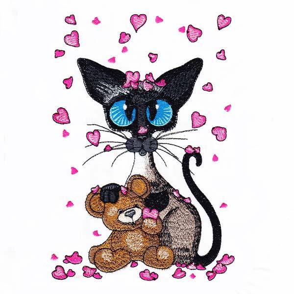 Siamese Cats by Amylyn Bihrle -10
