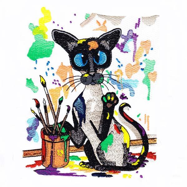 Siamese Cats by Amylyn Bihrle -11