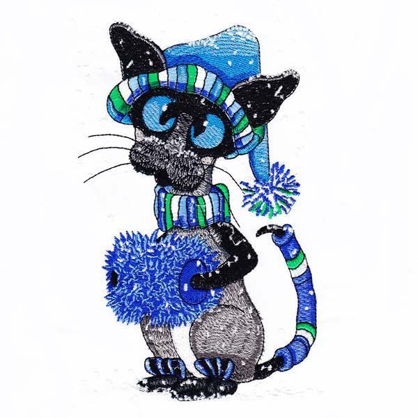 Siamese Cats by Amylyn Bihrle -12