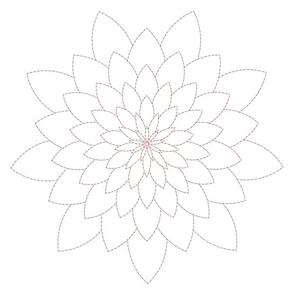 Simple Mandala Blocks Set 1 & 2-3