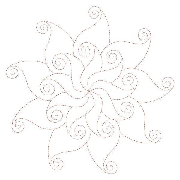 Simple Mandala Blocks Set 1 & 2-5