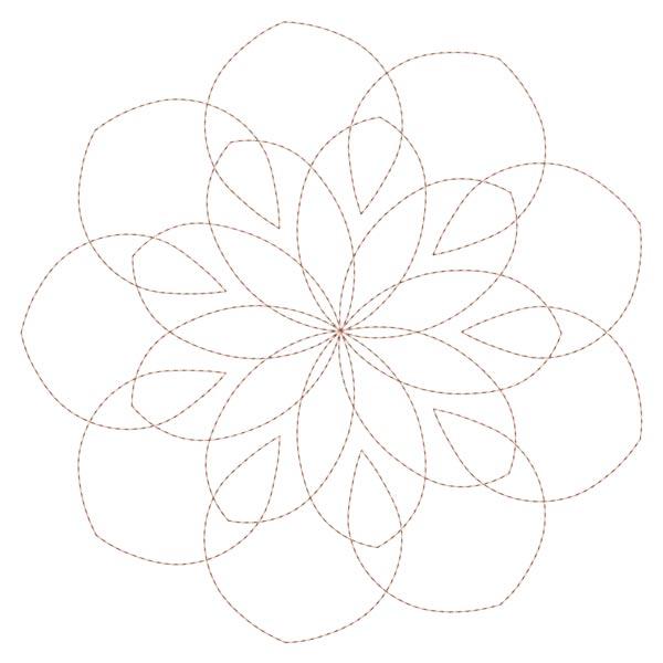 Simple Mandala Blocks Set 1 & 2-7