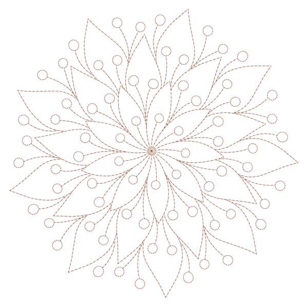 Simple Mandala Blocks Set 1 & 2-9
