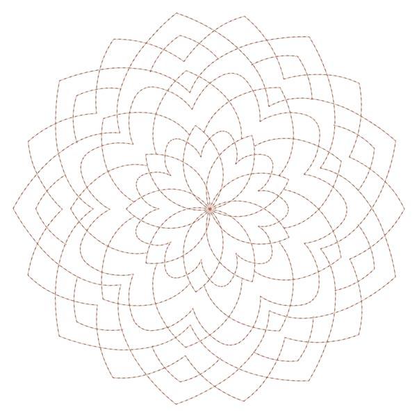 Simple Mandala Blocks Set 1 & 2-10