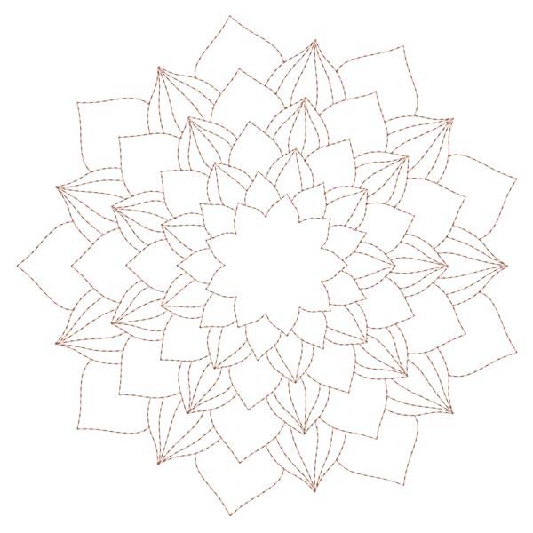Simple Mandala Blocks Set 1 & 2-11