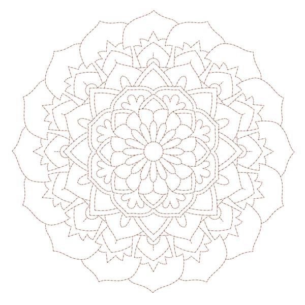 Simple Mandala Blocks Set 1 & 2-12