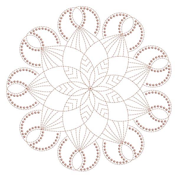 Simple Mandala Blocks Set 1 & 2-13