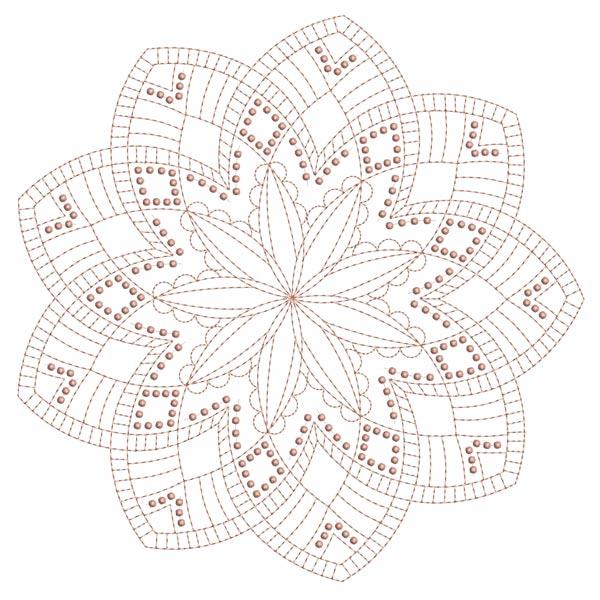 Simple Mandala Blocks Set 1 & 2-15