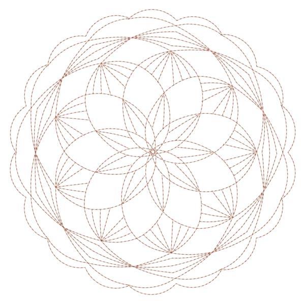 Simple Mandala Blocks Set 1 & 2-21