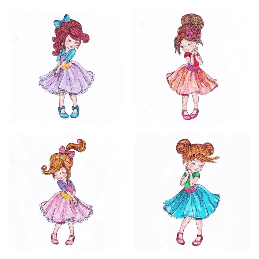 Dressed-up Girls
