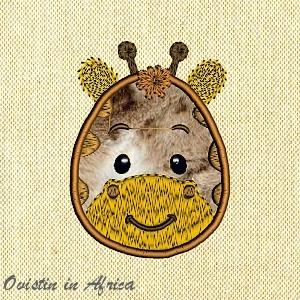 Applique Baby Giraffe