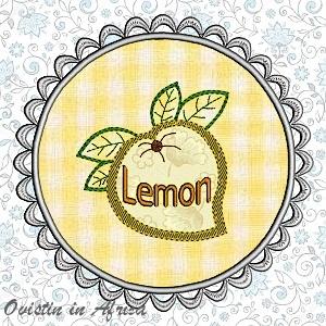 FSL Applique Lemon Coasters