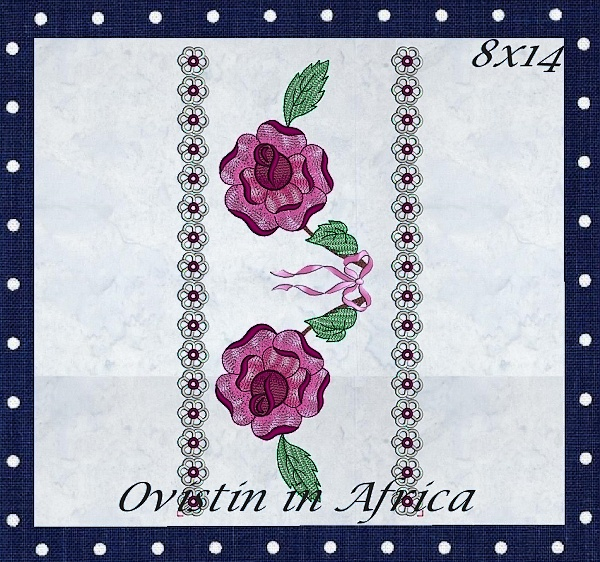 Rose Quilt Blocks and Borders-4