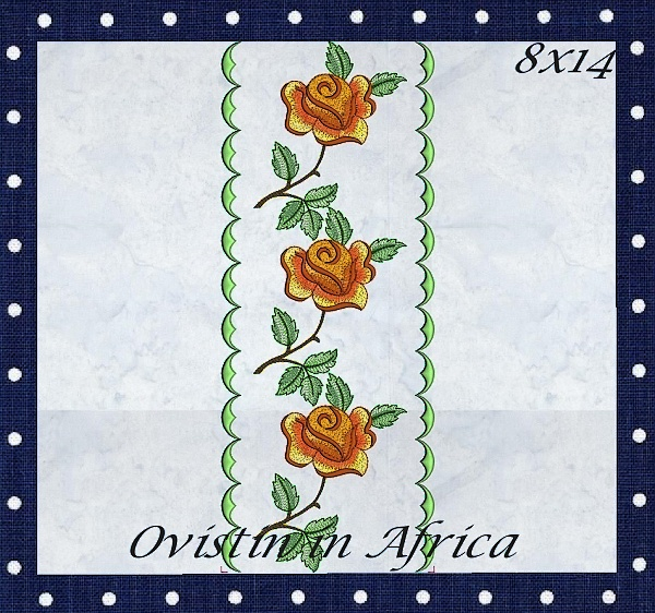 Rose Quilt Blocks and Borders-5