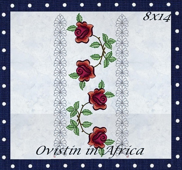 Rose Quilt Blocks and Borders-6