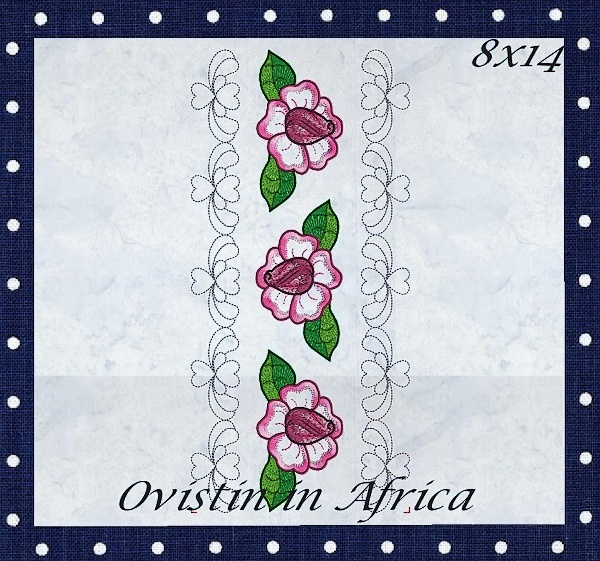 Rose Quilt Blocks and Borders-7