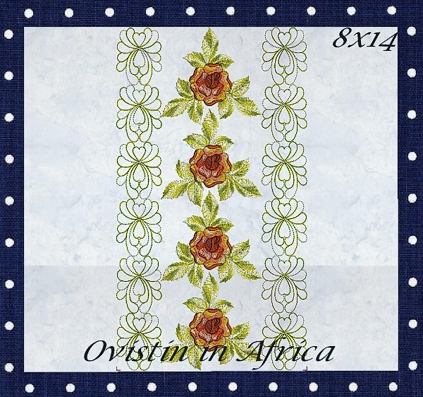 Rose Quilt Blocks and Borders-8