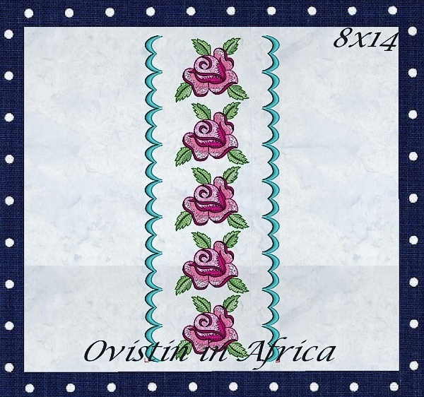 Rose Quilt Blocks and Borders-9