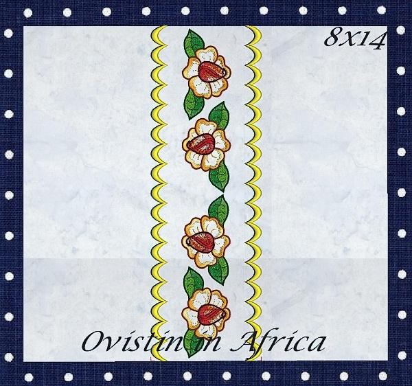 Rose Quilt Blocks and Borders-10